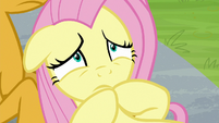 Fluttershy nervous about being a coach S9E15