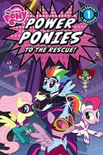 My Little Pony Power Ponies to the Rescue book cover