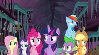 """Pinkie """"these monsters lost their magic"""" S8E25"""