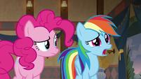 "Rainbow Dash ""why not?"" S7E18"
