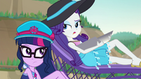 "Rarity ""the answer is no"" EGFF"