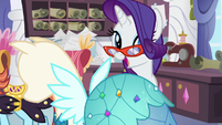 Rarity -is that the customer- S5E14