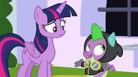 """Spike """"it may not be a surprise"""" S9E4"""