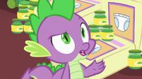 Spike correcting Princess Cadance S7E3