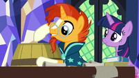 "Sunburst ""the stuff I bought is inside"" S7E24"