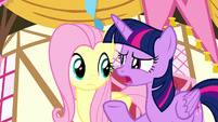 """Twilight """"can you understand what he's saying?"""" S8E18"""