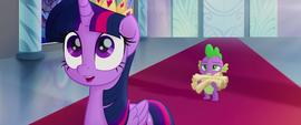 """Twilight Sparkle """"for a huge favor!"""" MLPTM"""