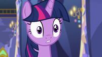 Twilight Sparkle looking slightly worried S7E3