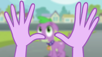 Twilight looking at her hands EG