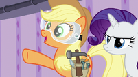 Applejack --there'll be plenty of hot water-- S6E10