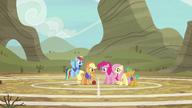 S06E18 Drużyna na boisku w Appleloosie