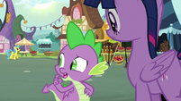"""Spike """"as well as you think she took it"""" S8E18"""