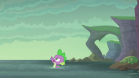 Spike --I was planning on swimming anyway!-- S6E5