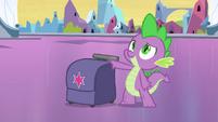 Spike with Twilight's bag EG