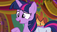 "Twilight ""talk to Dusty Pages about that"" S9E5"