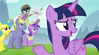 """Twilight """"there wouldn't be any friendship lessons"""" S7E14"""