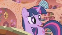"Twilight ""you know what I think, Pinkie Pie?"" S1E05"
