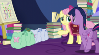 Twilight and Fluttershy's saddlebags S5E23