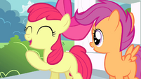 """Apple Bloom """"rootin-tootin"""" excited S4E05"""