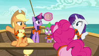 Applejack --what in the hay does that have to do-- S6E22