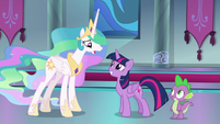 """Celestia """"you want me to star in your play?!"""" S8E7"""
