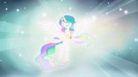 "Celestia singing ""fulfill your destiny"" S03E13"