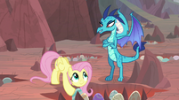 Ember appears before Fluttershy S9E9