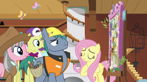 Fluttershy explains her vision to the experts S7E5.png