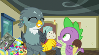 Gabby taking ice cream come from Spike S9E19