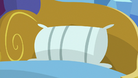 Last pillow on Spike's bed S8E24