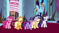 Mane Six stand up to King Sombra again S9E2