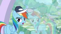 "Rainbow Dash ""if you say so"" S9E15"