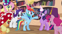 """Rainbow Dash excited """"whatever"""" S4E04"""