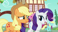 "Rarity ""if we are really to enjoy this"" S6E10"