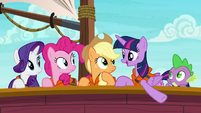 Twilight --the favorite food of the tri-horned bunyip-- S6E22