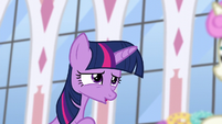 Twilight -I certainly wasn't one to the three of you- S5E12