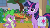 Twilight and Spike waiting even longer S9E5