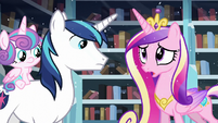 Cadance --but we should evacuate the city just in case!-- S6E2
