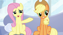 """Fluttershy """"how long you've been waiting"""" S6E7"""