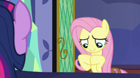 """Fluttershy """"use a third book to translate it all"""" S7E20"""