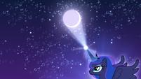 Princess Luna moving the moon S5E4