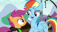"""Rainbow """"I know a fan club that could use"""" S8E20"""