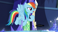 """Rainbow Dash """"what are we waiting for?"""" S7E26"""