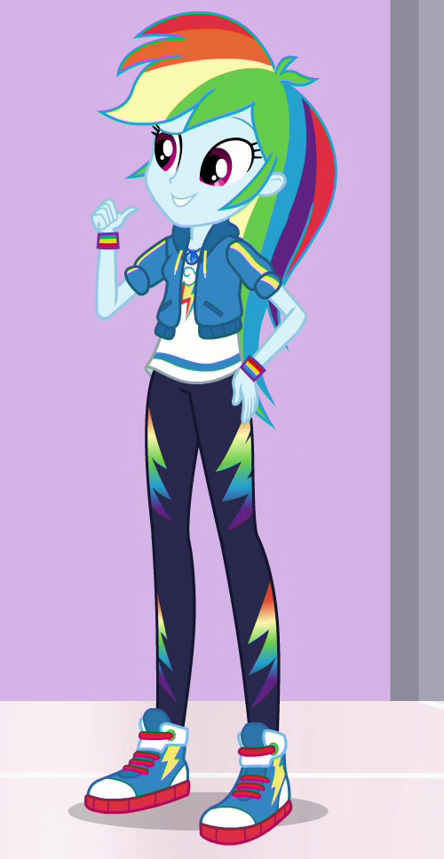 Rainbow Dash (EG) My Little Pony Friendship Is Magic Wiki Fandom