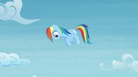 Rainbow sees Bulk fall down S4E10