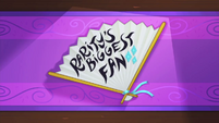 Rarity's Biggest Fan title card MLPS1
