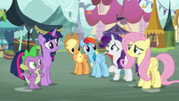 """Rarity """"may not have taken our critique"""" S8E18"""