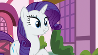 Rarity excited to share what she has S9E19