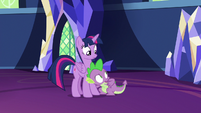 """Spike """"they might be getting suspicious"""" S7E15"""