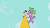 Spike -can you keep it down a little-- S5E10